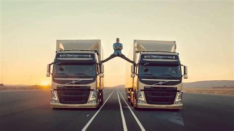 publicite volvo trucks  epic split  van damme