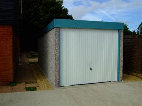 Flat Roof Concrete Garages Range  Birmingham West