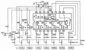 How To Build 5 Band Graphic Equalizer  U2013 Circuit Diagram