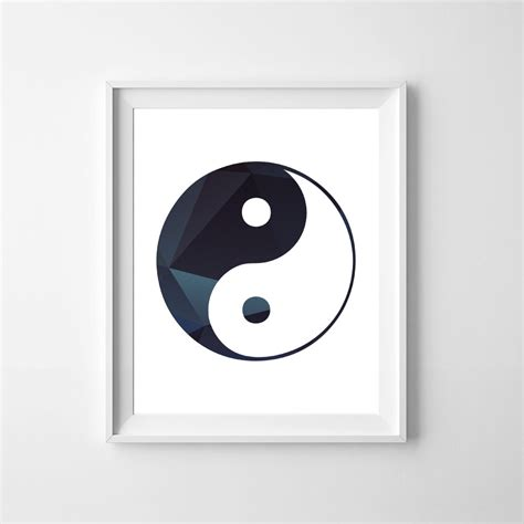 Yin Yang Wall Art - Elitflat