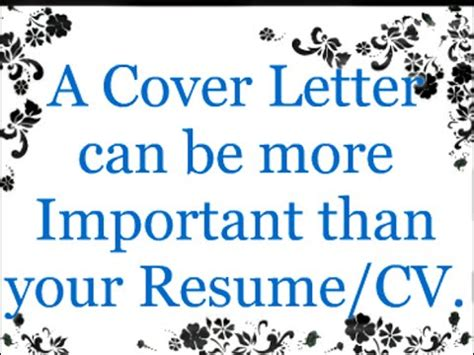 Cover Letter Tips And Tricks by How To Write A Cover Letter For Tips And Tricks With
