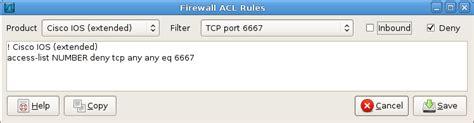 creating acl entries  wireshark packetlifenet