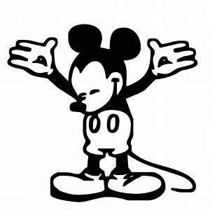 Baby Mickey Mouse Clipart Black And White | Clipart Panda ...