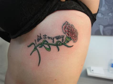 carnation tattoos designs ideas  meaning tattoos