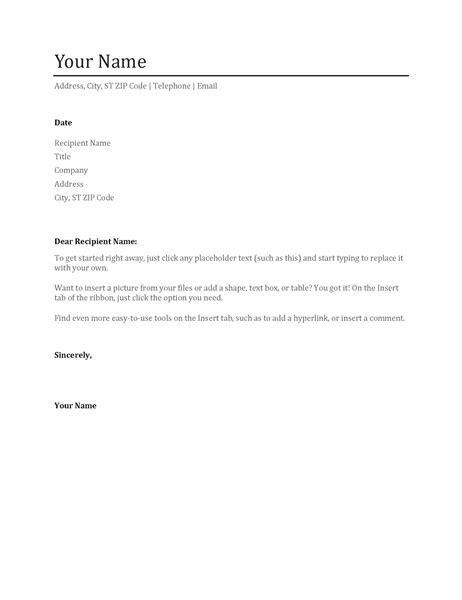 basic cover letter   resume