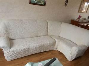 Housse De Canapé D Angle Extensible : housse canape angle neuf offres septembre clasf ~ Melissatoandfro.com Idées de Décoration