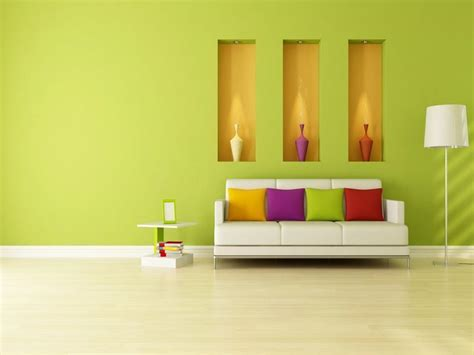 interior colors for small homes small house interior design with green wall color