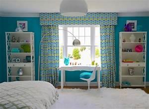 Chambre Turquoise Et Blanc. turquoise brun d cor de chambre coucher ...