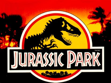 Jurassic Park Logo Wallpaper Retro Gaming Jackgyarwood