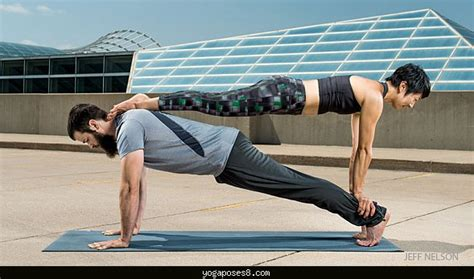 Yoga Poses With Partners