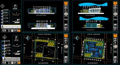 multi storey car park parking structure  mb bibliocad