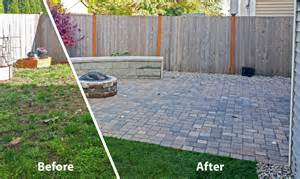 Image of: Backyard Paver Patio Home Design Idea Picture Brick Patio Designs For Your Garden