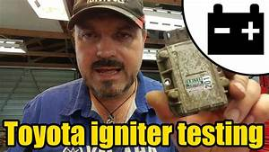 How To Test A Toyota Ignition Igniter  1421