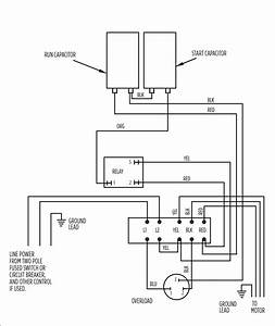 Wiring Diagram Single Phase Motor