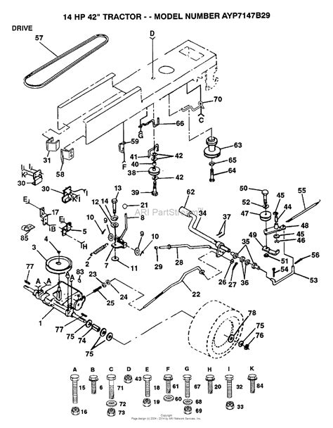 Ayp Electrolux Aypb Parts Diagram For Drive