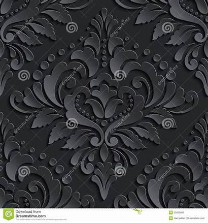 Elegant Seamless Pattern Texture Luxury Nahtloses Damasco