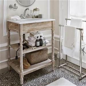 Waschtischunterschrank Selber Bauen : badm bel deko landhaus look ~ Lizthompson.info Haus und Dekorationen