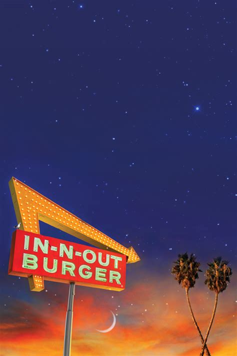 Download Wallpaper - Crossed Palms - iPhone - In-N-Out Burger