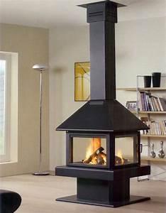 Cheminée Centrale Prix : cheminee suspendue petit prix ~ Premium-room.com Idées de Décoration