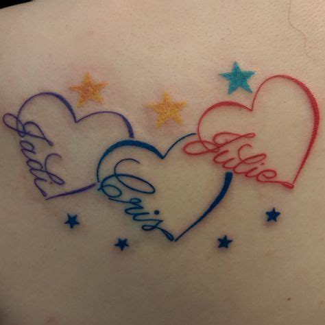 Best 25+ Heart Tattoos With Names Ideas On Pinterest