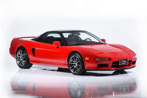 used 1991 acura nsx for sale 84 900 motorcar classics