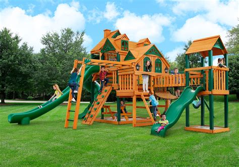 backyard playground equipment residential backyard equipment a ok playgrounds swing