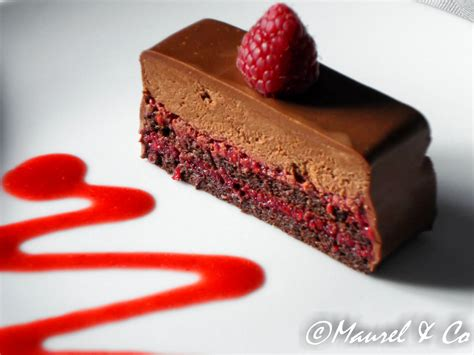 le triptyque chocolat framboise gourmand croquant
