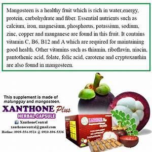 Xanthone Plus Herbal Capsule Dosage