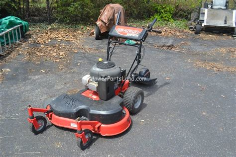 replaces gravely model  lawn mower carburetor