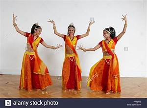 Teenage Girls Performing Bollywood Dance Moves  Formation