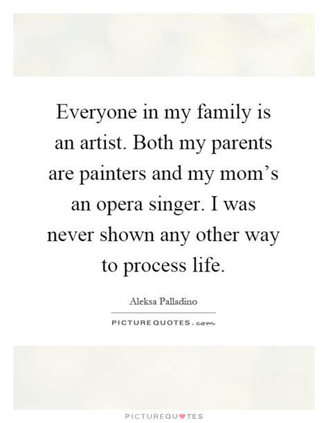 family   artist   parents