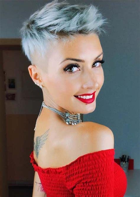 short haircuts fall 2018 2019 nail art styling