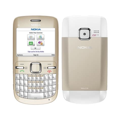 Nokia Mobile C3 by Refurbished Reconditioned Mobile Phones Nokia C3 00