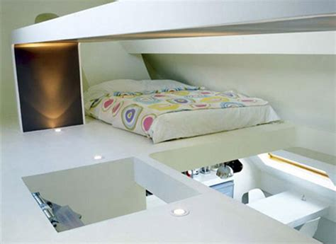 Small Decorative Space Saving Apartment Layouts Decor Loft