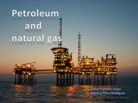 Petroleum Gas by Ppt Petroleum And Gas Powerpoint Presentation