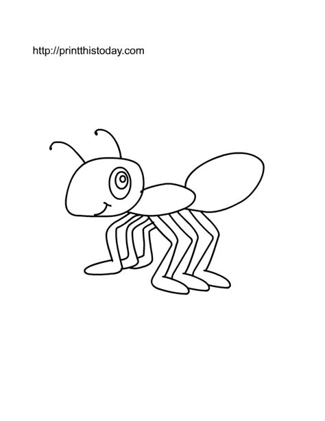 ants marching coloring pages   print