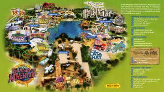 Universal Studios Orlando Island Adventure Map