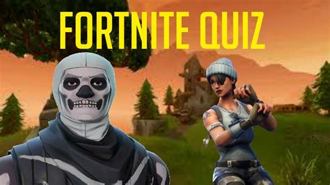 fortnite iq test quiz  questions youtube