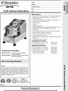 Electrolux Dito 603297 Users Manual 200375 Pmd