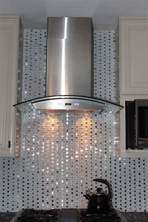 tile backsplash  hood vent beautiful tile ideas