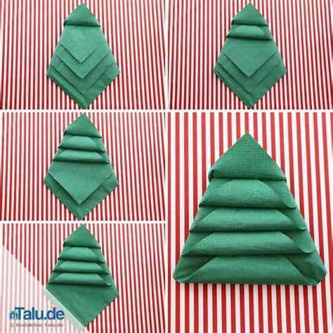 Weihnachtsbaum Aus Servietten Falten by Die Besten 25 Weihnachtsbaum Serviette Falten Ideen Auf