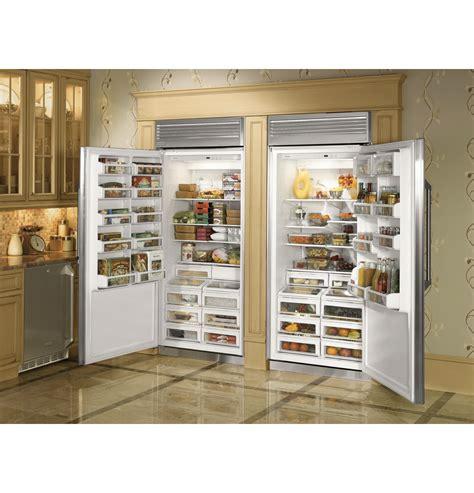 monogram  professional built   refrigerator zirpnhrh ge appliances