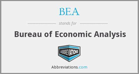 bureau of economics analysis bea bureau of economic analysis
