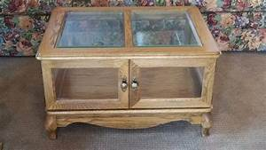 high end st cloud moving auction furniture sports With glass enclosed coffee table