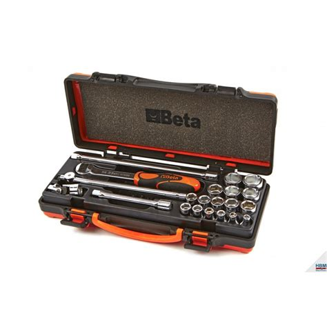 beta boite cl 233 224 cliquet 3 8 quot avec 16 douilles 224 six pans creux et 5 accessoires 009100936