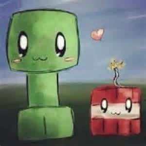 Cute Minecraft Chibi Creeper