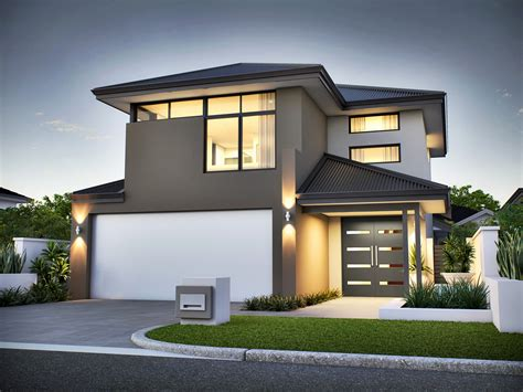 two houses 2 house plans modern awesome home design narrow lot