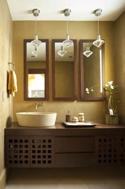 Bathroom Mirror Decorating Ideas by 21 Peaceful Zen Bathroom Design Ideas For Relaxation In