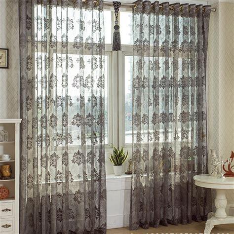 fashion cutout color bay window curtain gray floor