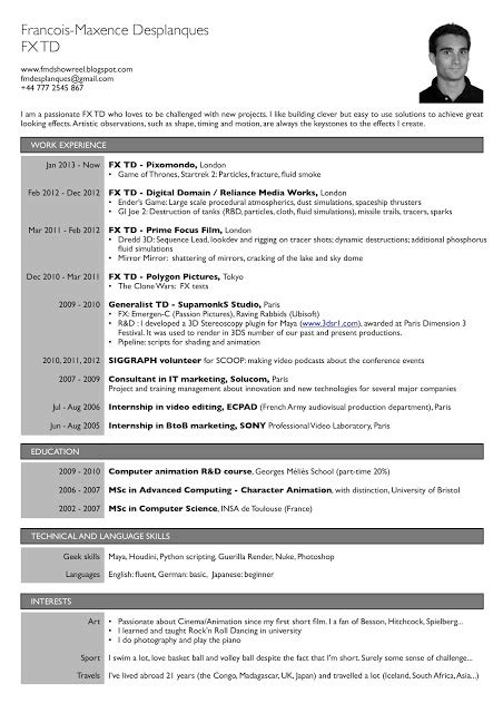 Td Resume Tips by How To Format Resume Out Of Darkness